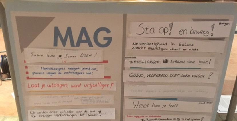Samenwerken aan de Maatschappelijke agenda van Hardinxveld-Giessendam (MAG)