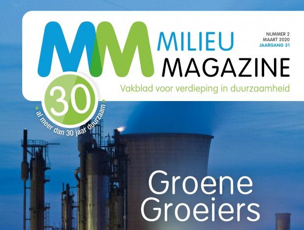 Cover MilieuMagazine nr. 1 2020
