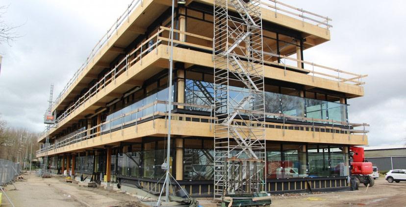 HoutWerk in Werkspoorkwartier laat zien dat duurzaam bouwen werkt