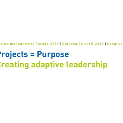 P2 presenteert 'best practice Sloterdijk'  tijdens Projectmanagement Parade