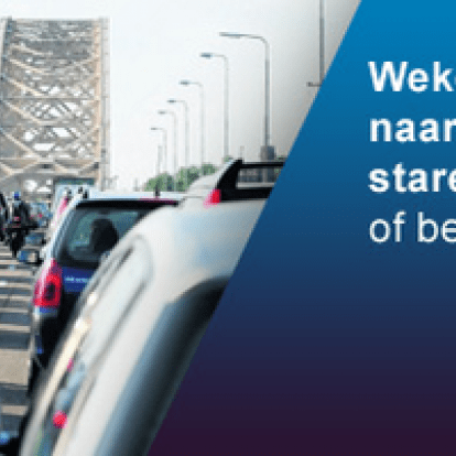 35000 spitsmijdingen op ring Arnhem-Nijmegen