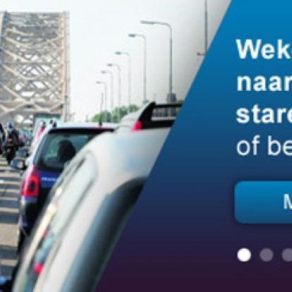 SLIM-app helpt bij het mijden van verkeersdrukte