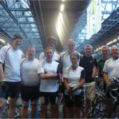 Ride for the roses, p2 reed mee met team