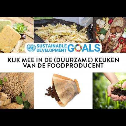 Kijk mee in de (duurzame) keuken van de foodproducent!