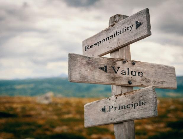 value aanduiding en de te bewandelen route