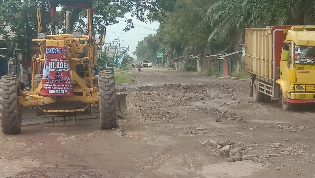 Bupati Loekman Perintahkan Dinas Bina Marga Perbaiki Jalan Provinsi