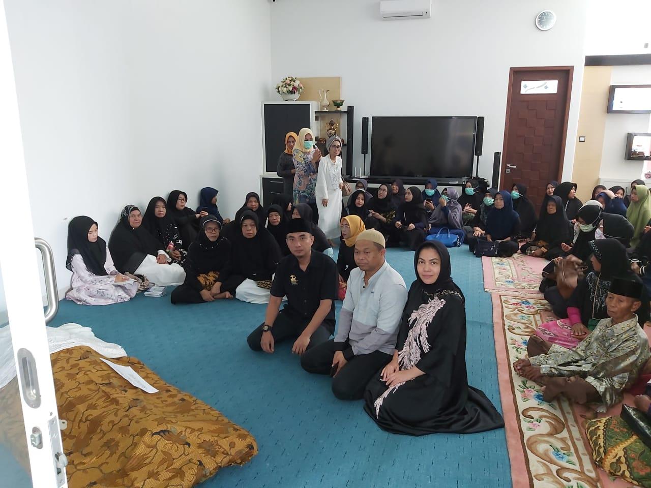 Doa Pun Edward Untuk Ibunda Waka Polresta Metro Bekasi
