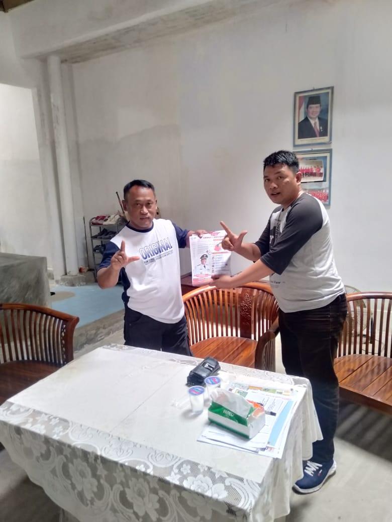 Teruskan Himbauan Bupati Loekman,Pemuda Ini Sosialisasikan PHBS Cegah Corona
