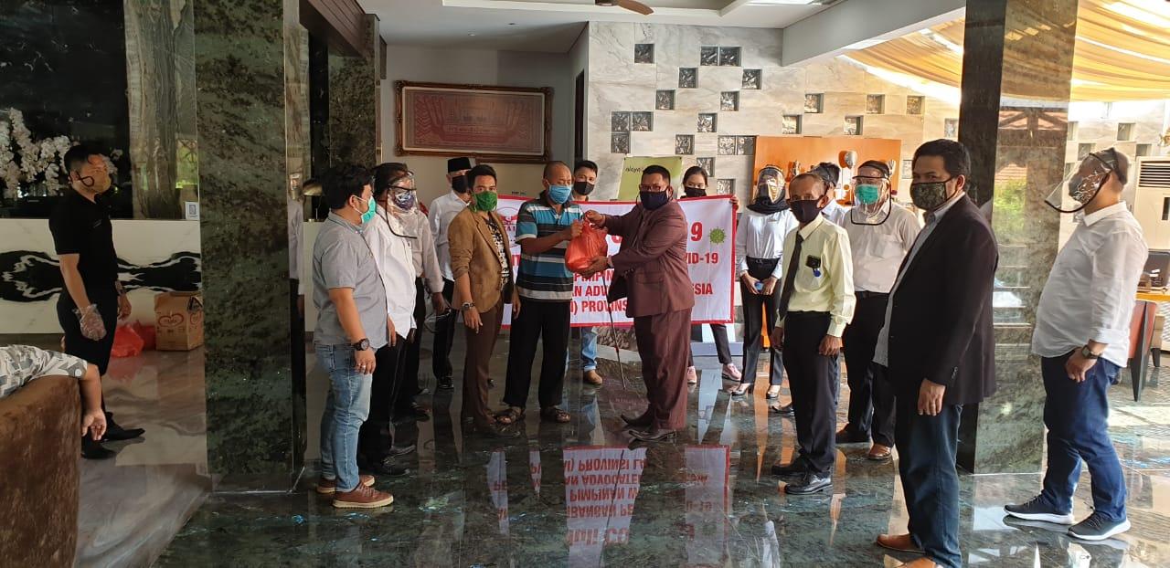 BPP PAI dan BPW PAI Lampung Peduli Terdampak Covid 19