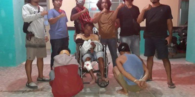 Pimpin Penangkapan Kasat Reskrim IPTU Riki,Tembak Pelaku Pencurian