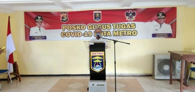 Pemkot Metro Kordinasi Dengan Pemkab Lamteng Untuk Tracking Keluarga ODP RSUAY Metro