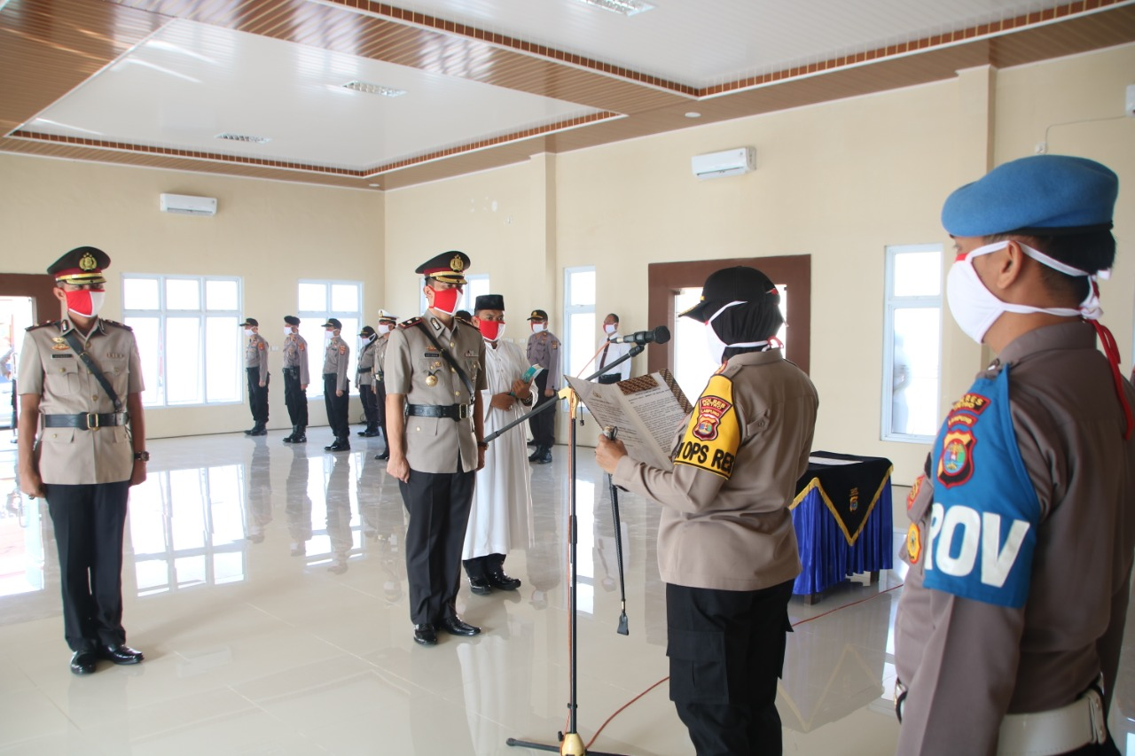 Kompol Gusti Iwan Wijaya Resmi Jabat Waka Polres Metro