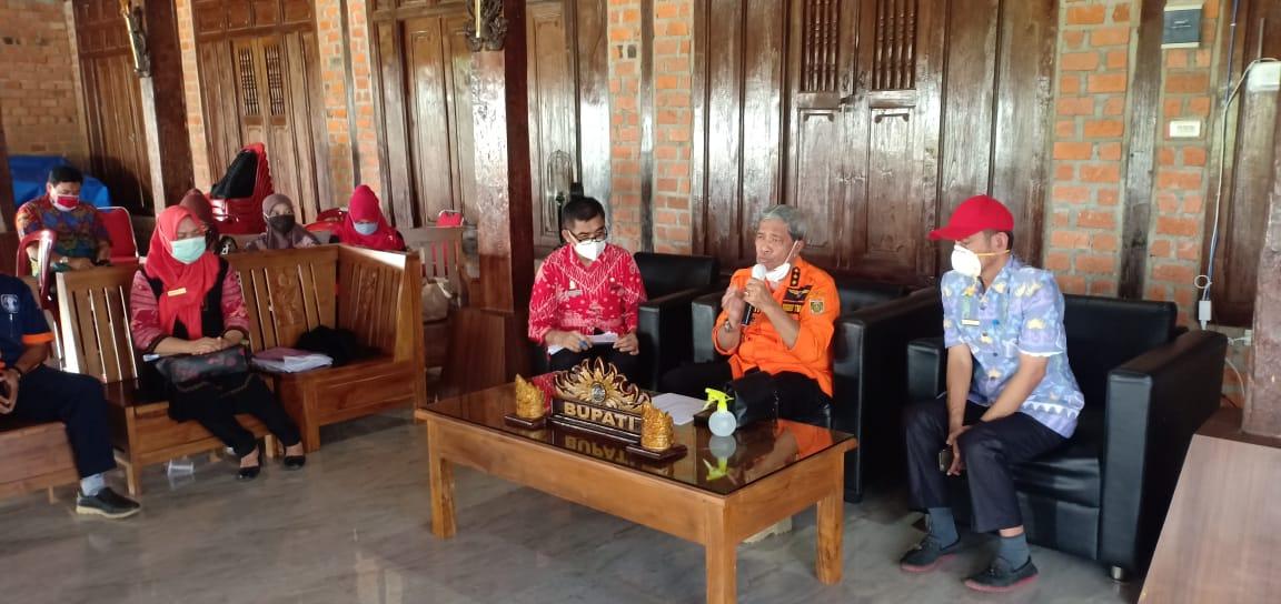 Pemkab Lamteng Bersama TNI Dan Polri 2 Juni Launcing Program New Normal life