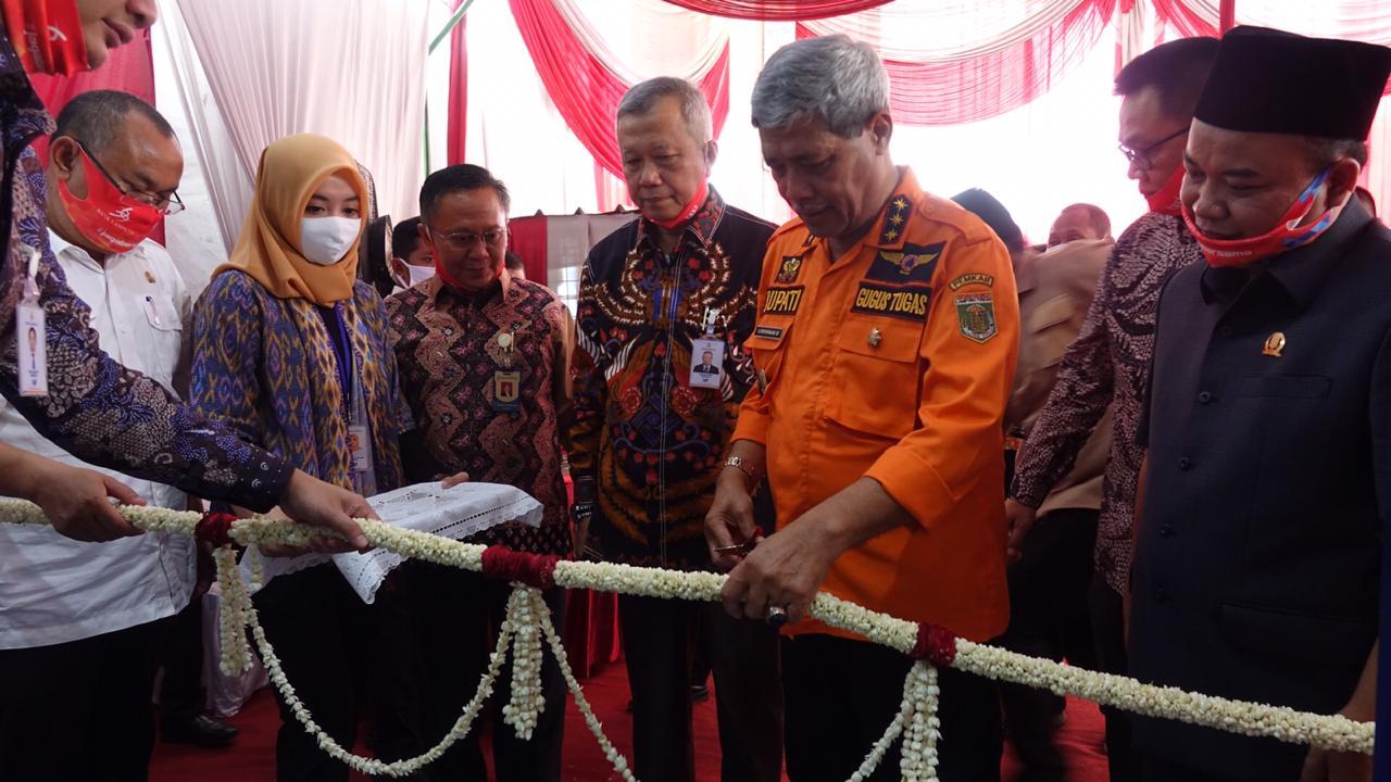Bupati Lamteng Resmikan Kantor Cabang Pembantu Bank Lampung Di Kali Rejo