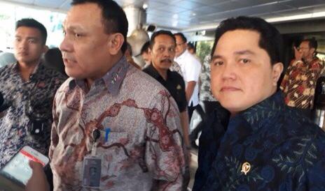 Erick Thohir Ke KPK, Firli : Koordinasi Dan Antisipasi Penyimpangan Program Pemulihan Ekonomi