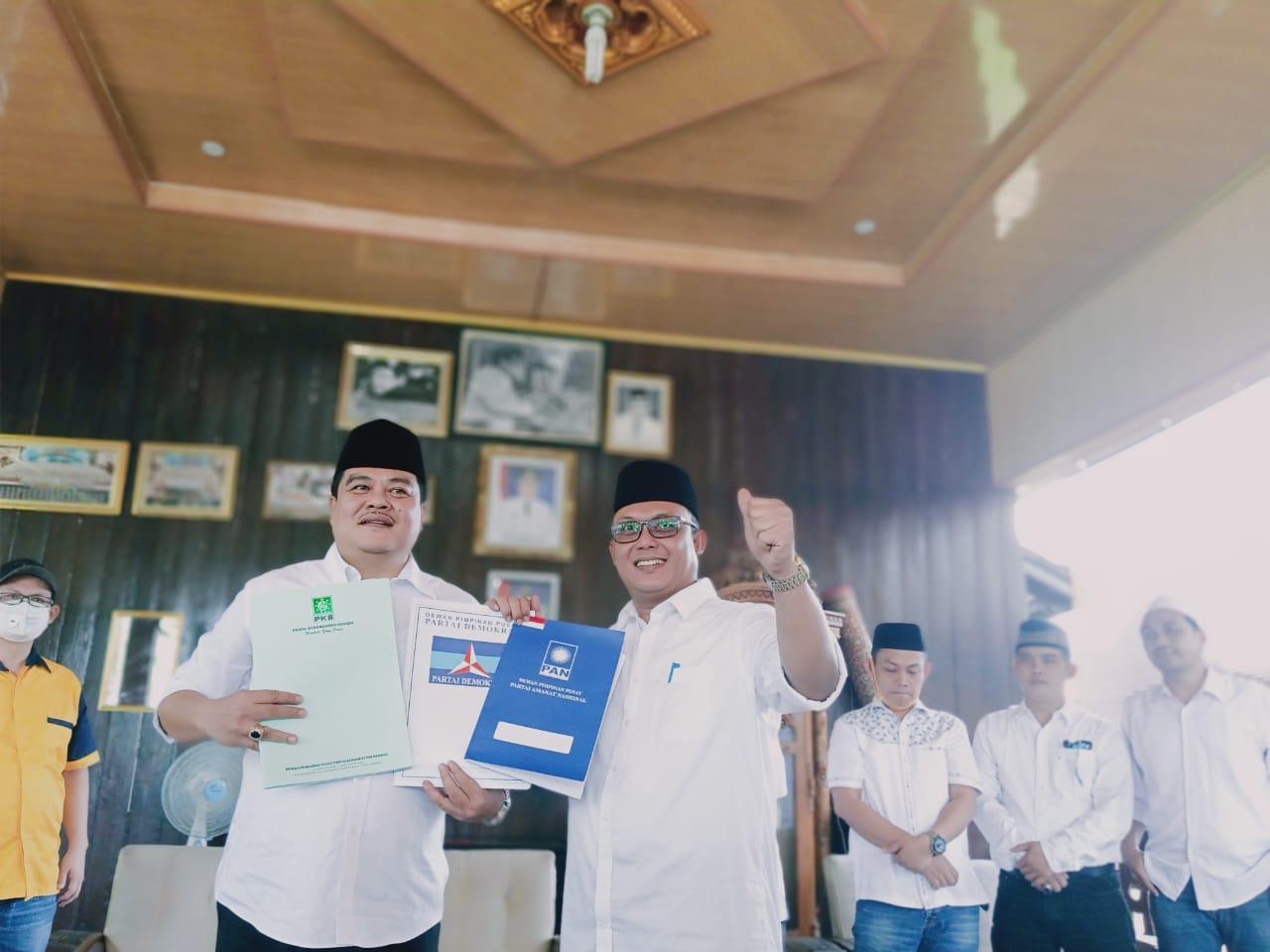Kantongi Dukungan Demokrat,PKB,PAN,Musa-Dito Siap Berlayar