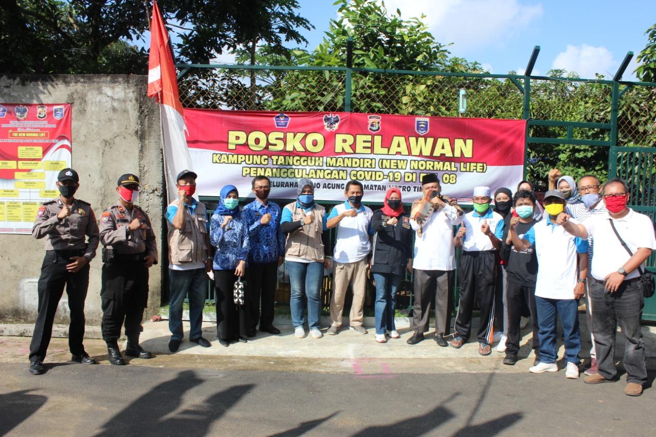 DPRD Kota Metro Apresiasi Kinerja Kampung Tangguh