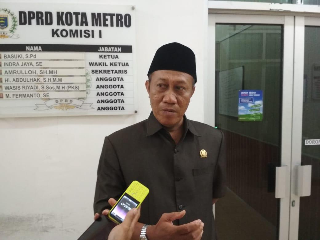 DPRD Kota Metro Harapakan Pengganti Jabatan Sekertaris Daerah Kota Metro Asli Putra Daerah