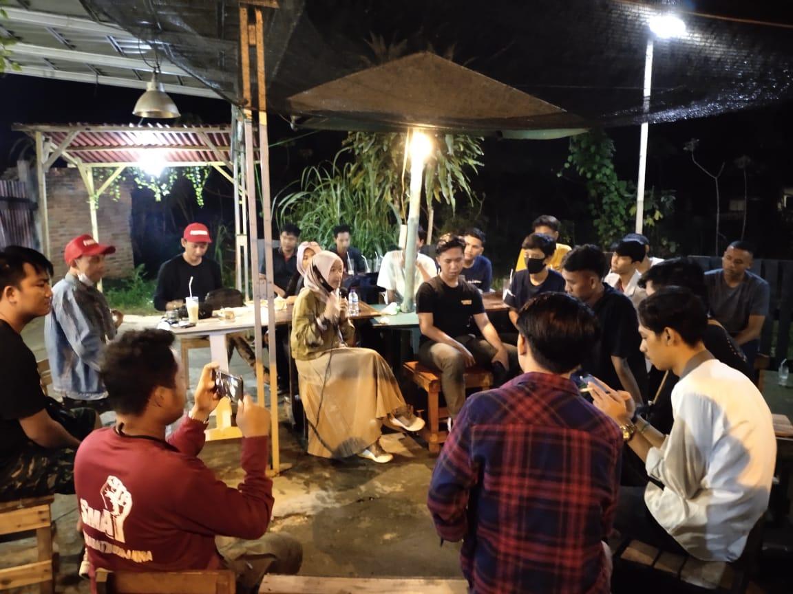 Jelang Pilkada, Puluhan Pemuda Sampaikan Harapan ke Anna Morinda