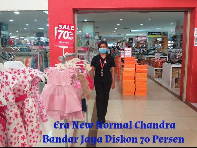 Era New Normal Chandra Departmen Store Bandar Jaya Diskon Hingga 70 Persen