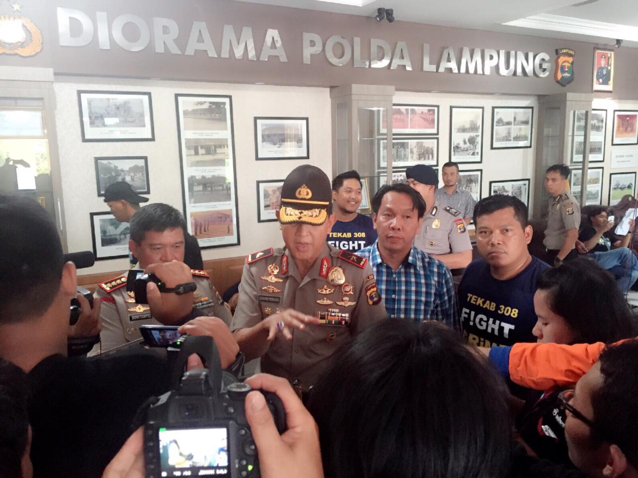 SPDB Pangeran Edward Syah Pernong : Hut Ke 5 Tekab 308 Adalah Tumpuan Dan Harapan Masyarakat Dalam Menjaganya