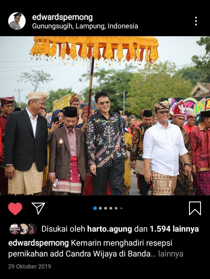 In Memoriam #Since2019 - Kunjungan Paduka YM SPDB Pangeran Edward Syah Pernong, Sultan Sekala Brak Yang di-Pertuan Ke 23 dikediaman puwakhi angkon-nya di Lampung Tengah