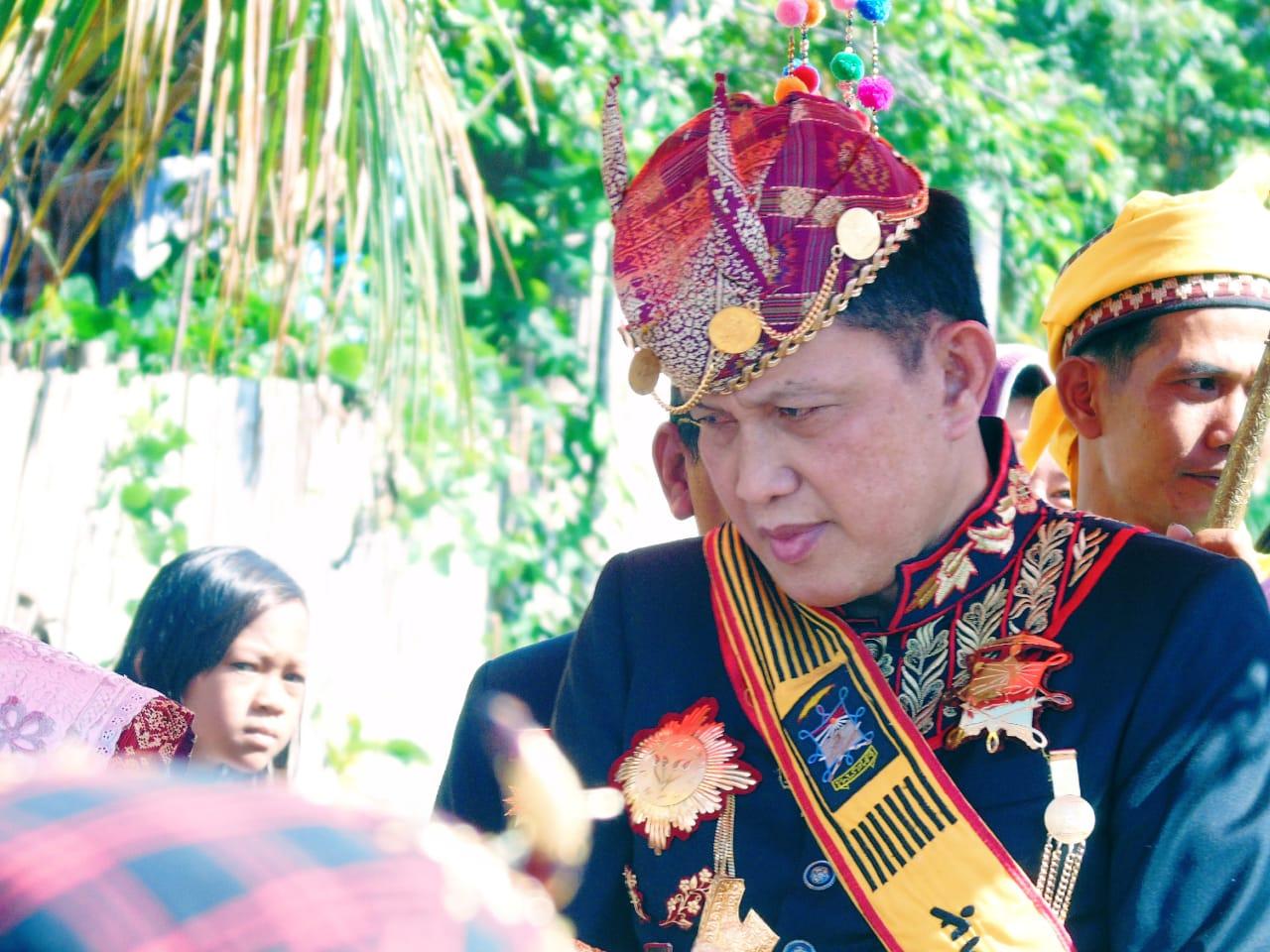 Sultan Skala Brak Doakan Alm HJ Putri Nurul Aini