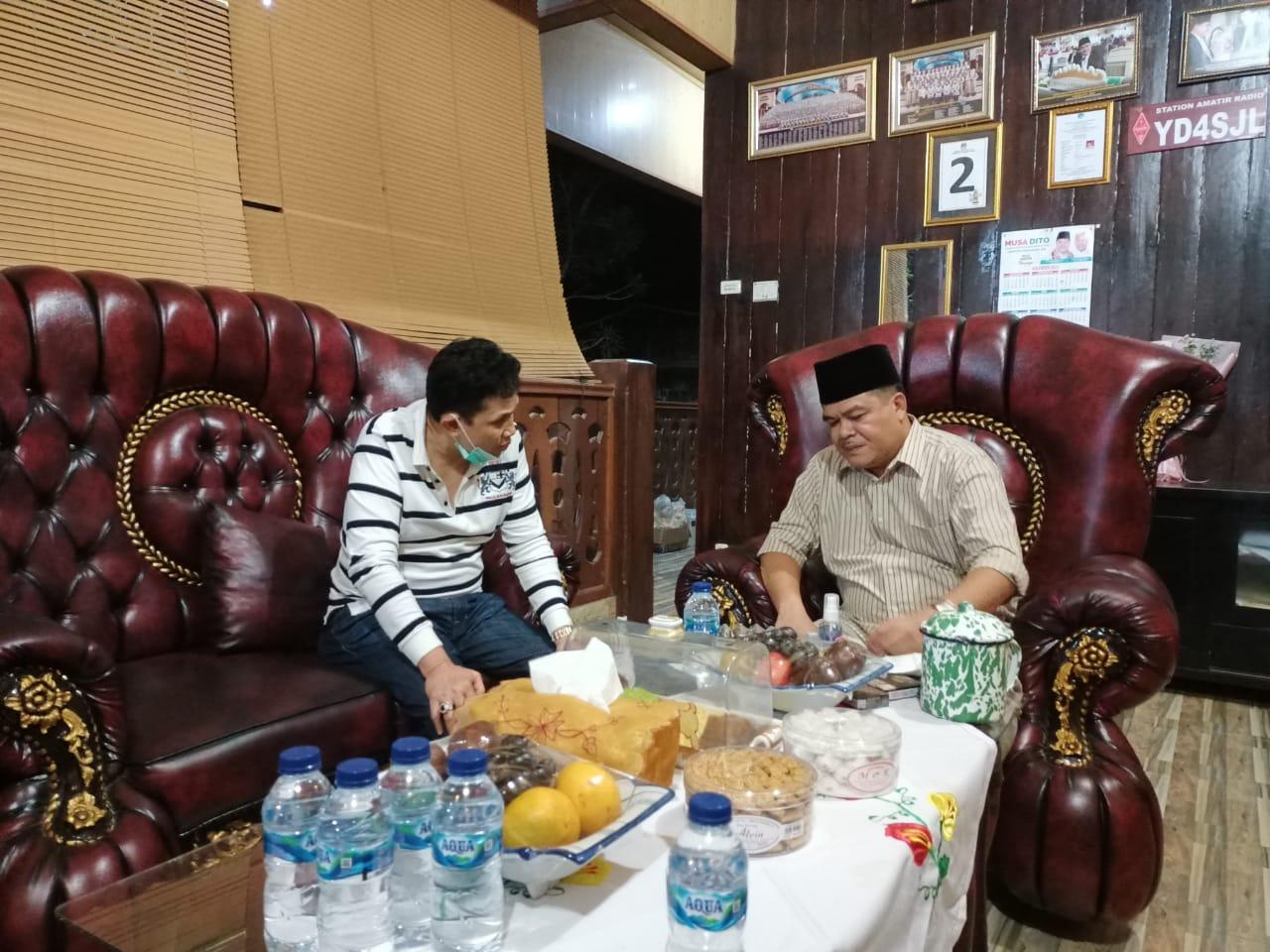 Hadir Di Kediaman Musa Ahmad, SPDB Edward Edward Syah Pernong Ucapkan Selamat Dan Mendoakan