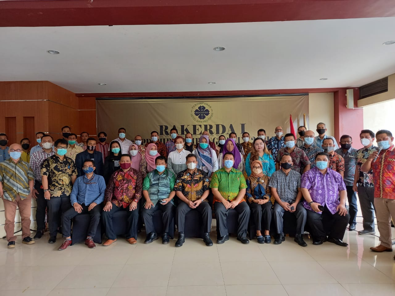 Rakerda I BPD PHRI Lampung Tahun 2021 Sukses