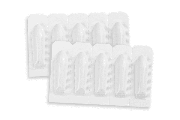 10 pack suppositories