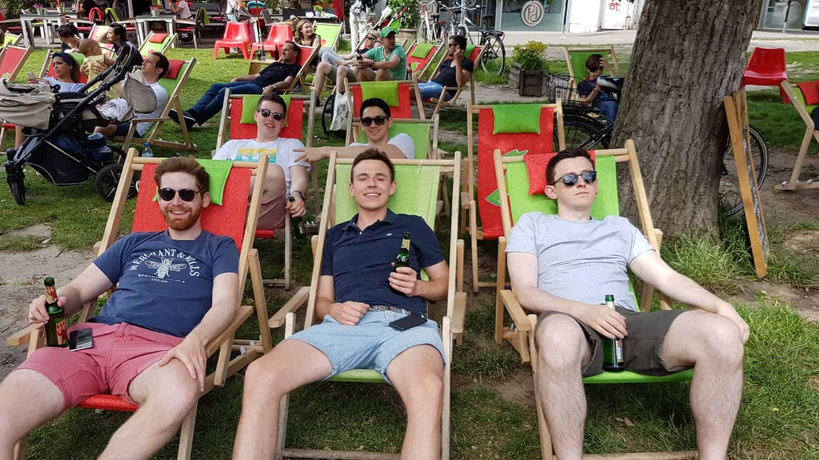 lads-drinking-beer-in-deck-chairs