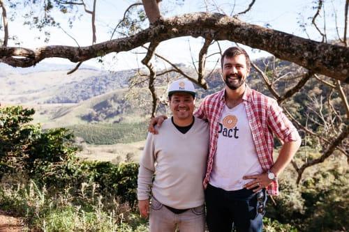 Pact Coffee Founder with Marcus Chapada
