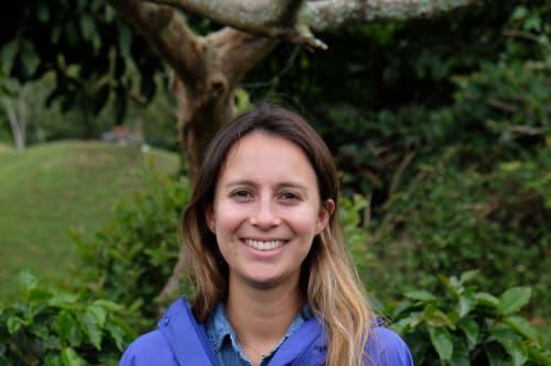 Maria Olano, speciality coffee buyer