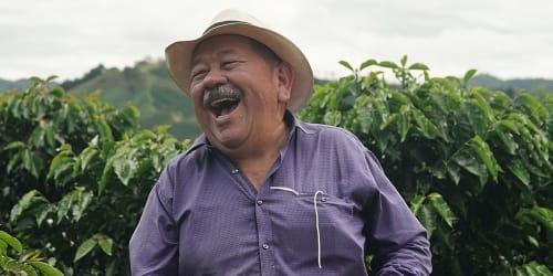 Orlando Babativa of El Paraiso Farm in Colombia
