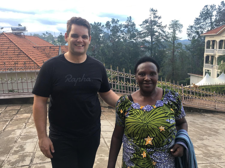 Epiphanie Mukashyaka and Will, Head of Coffee