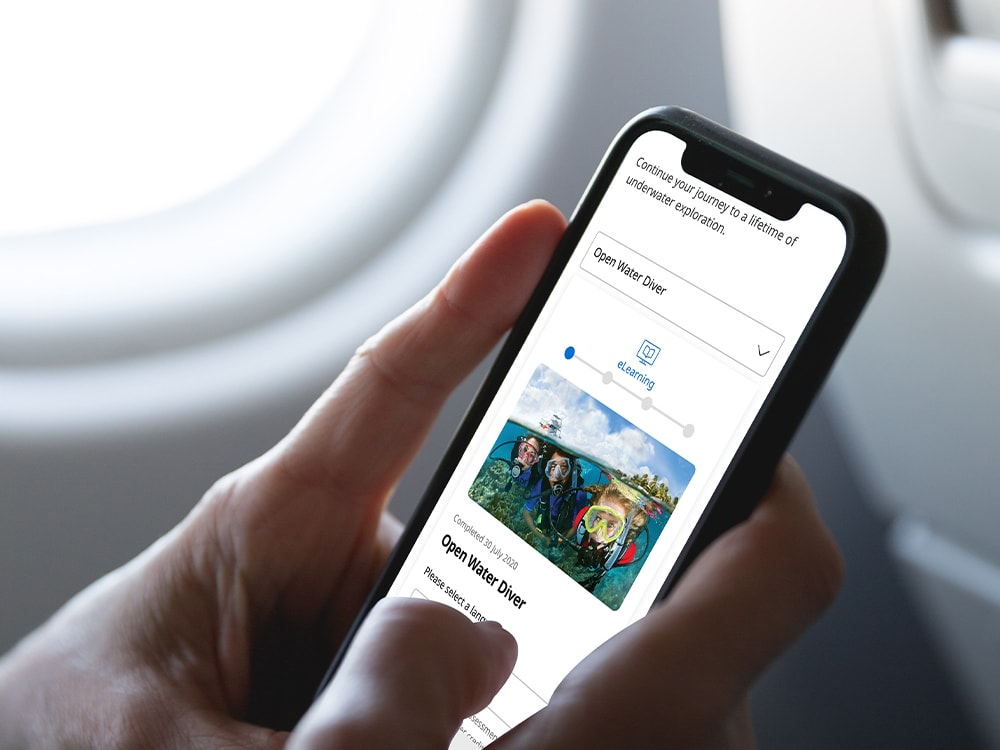 Mobile phone in plane