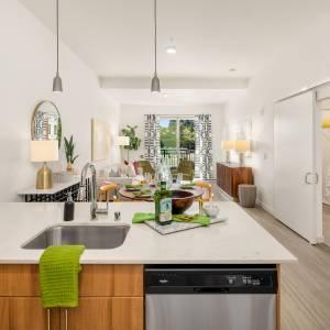 Flyway Modern kitchen scheme & finishes