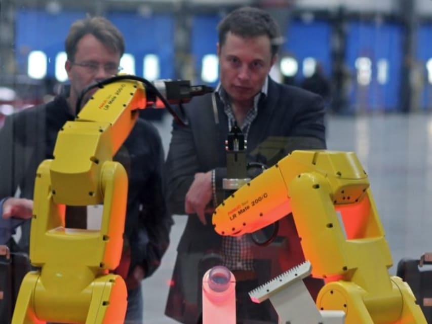 The robots are killing Tesla