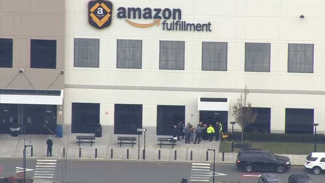 Robot Punctures Bear Spray Can, More Than 50 People Sickened at New Jersey Amazon Warehouse, Town Says