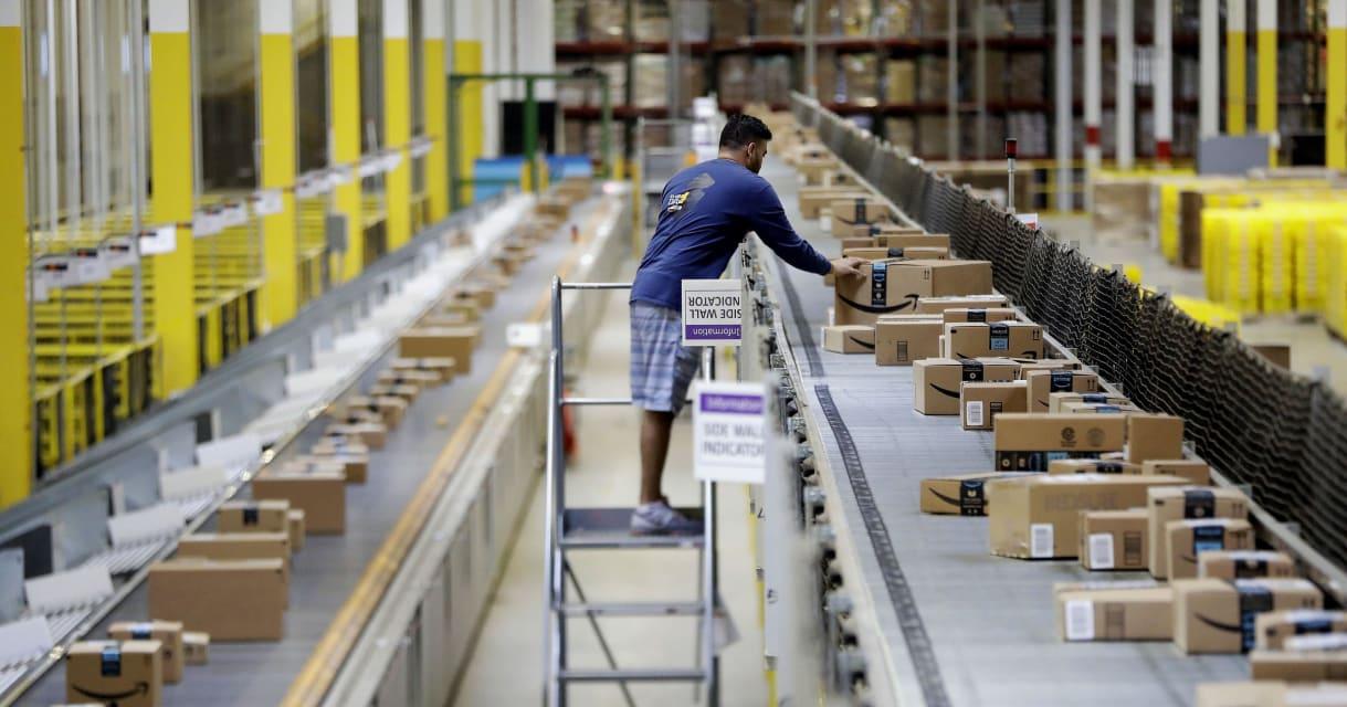 Bear spray incident at NJ Amazon warehouse shines light on safety record