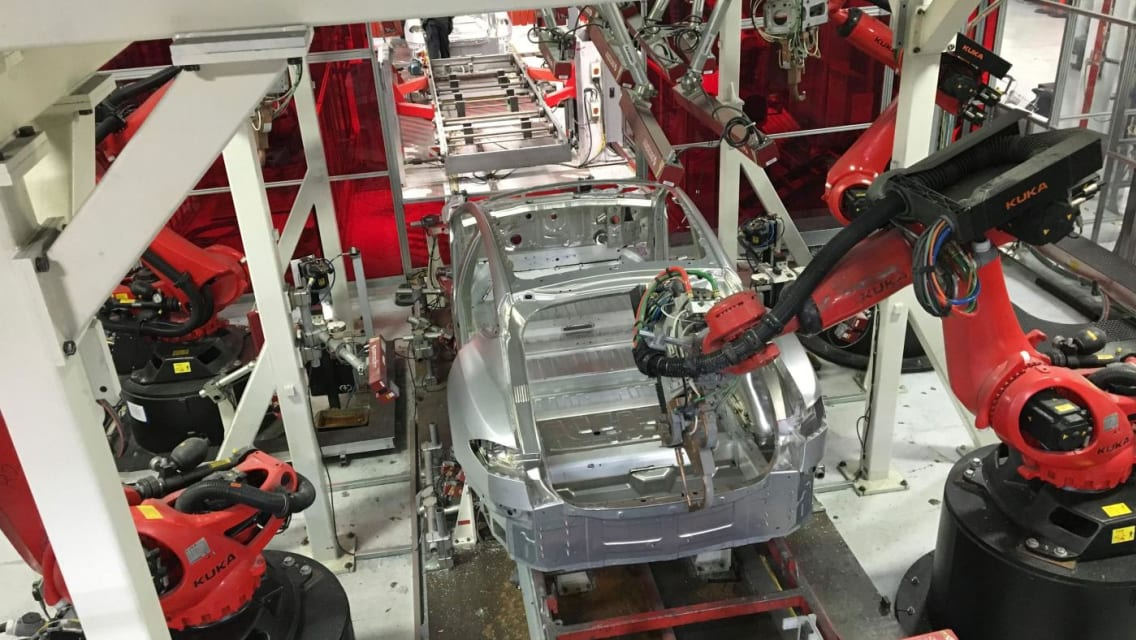 """How Tesla """"shot itself in the foot"""" by hyper-automating Model 3 production"""