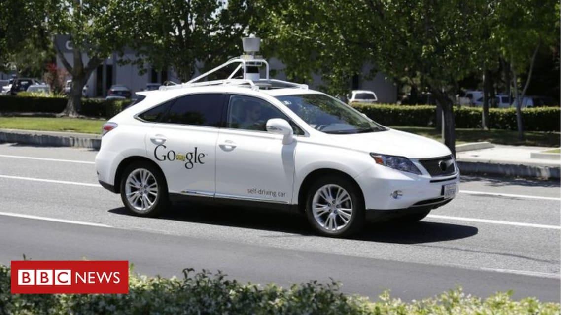 Google self-driving car hits a bus