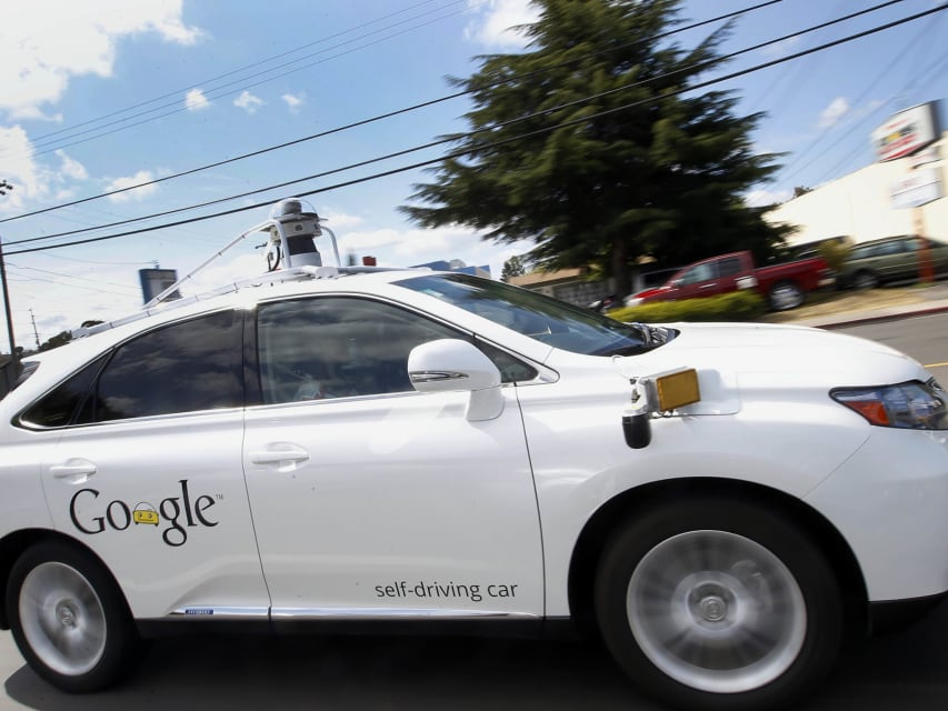 Google self-driving car crashes into bus and company admits it is 'partially' responsible