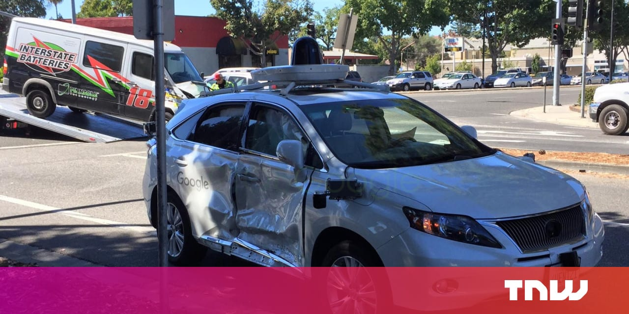 Google's self-driving car has been involved in its worst crash yet