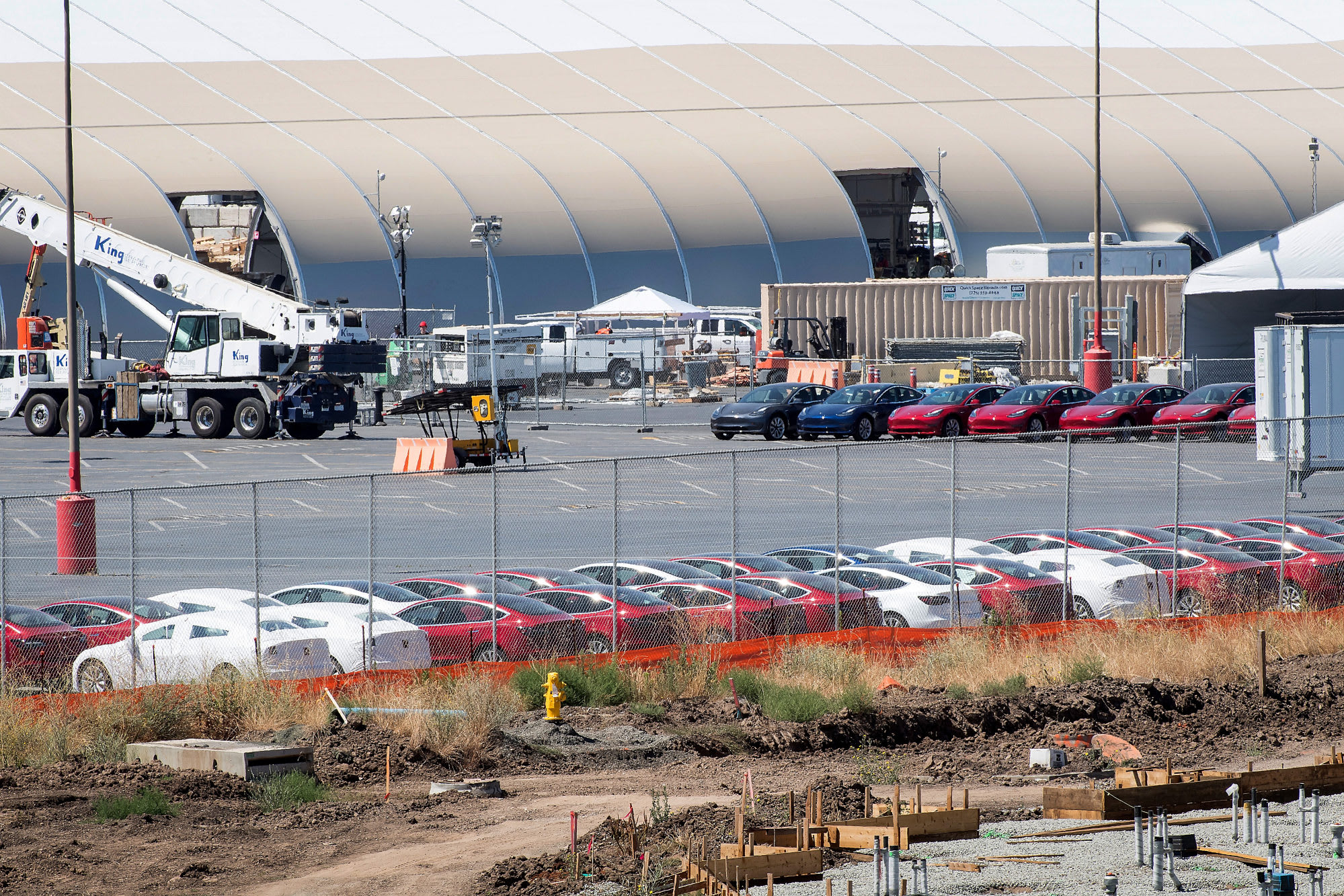 Elon Musk Loves Tesla's New Tent Factory. Others Aren't Sure