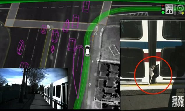 Google admits its self driving car got it wrong: Bus crash was caused by software