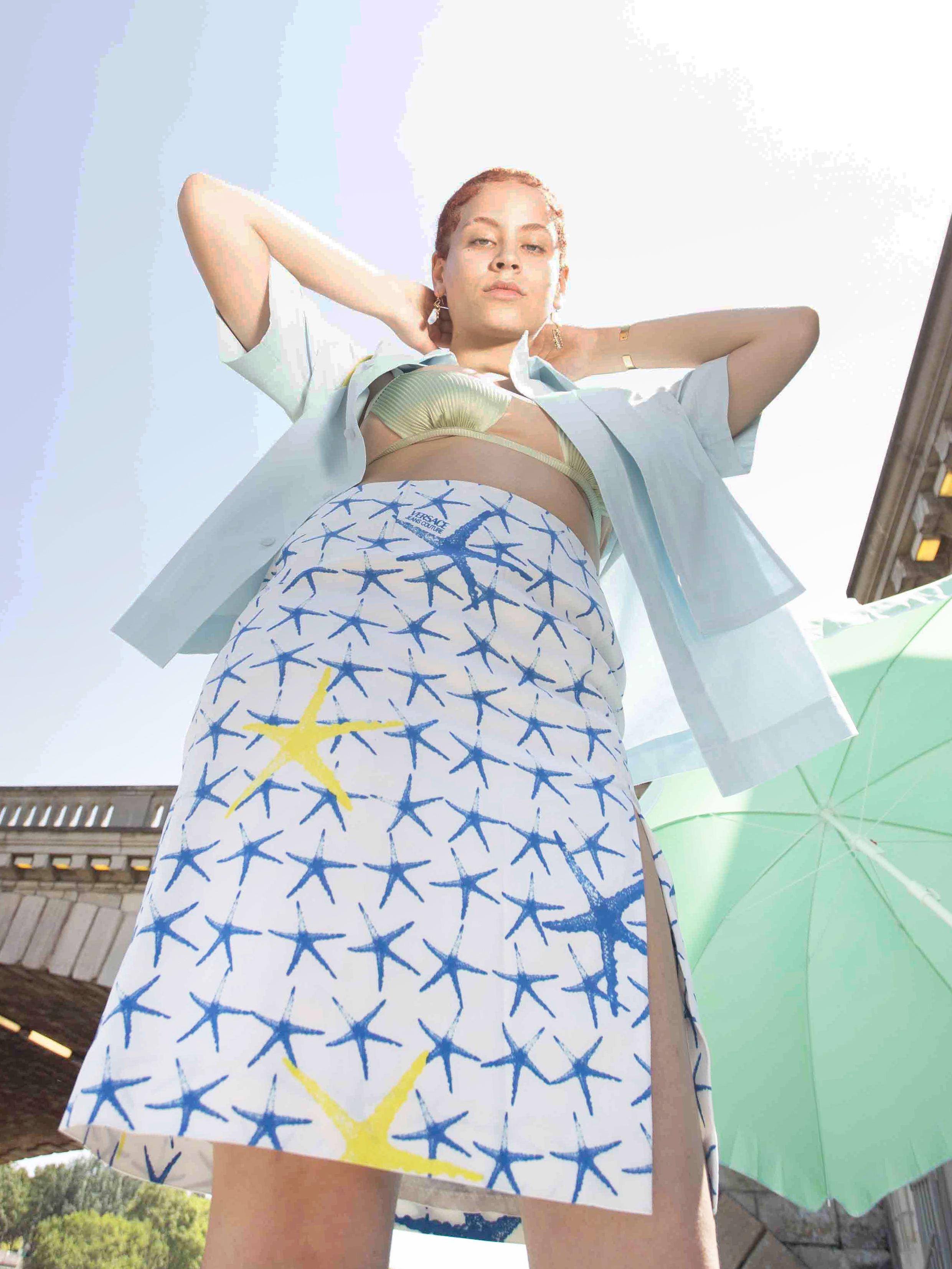 Packshot du produit Jupe Versace Imprimée de la marque Versace