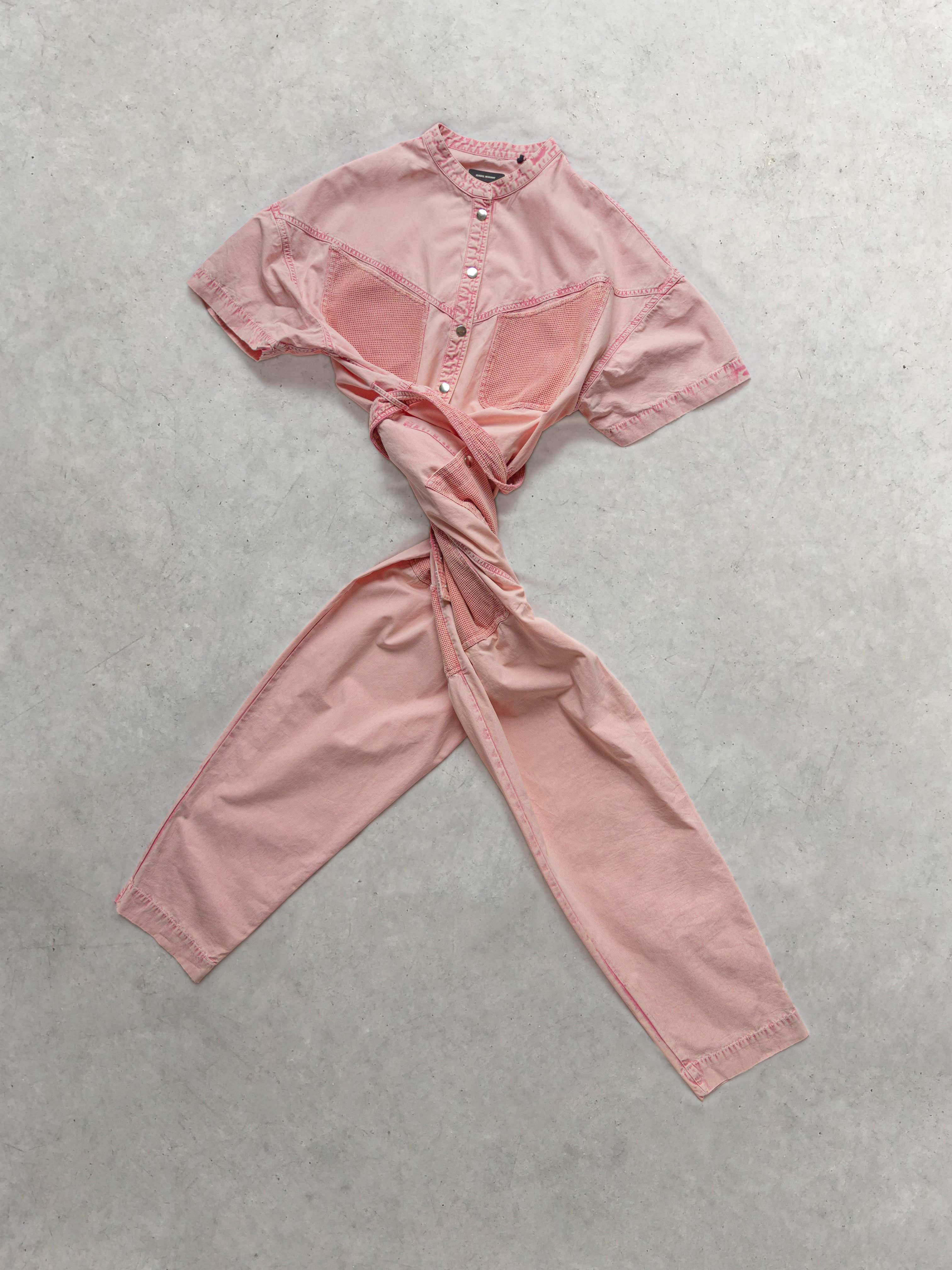 Packshot de Combinaison Jean Rose par la marque Isabel Marant