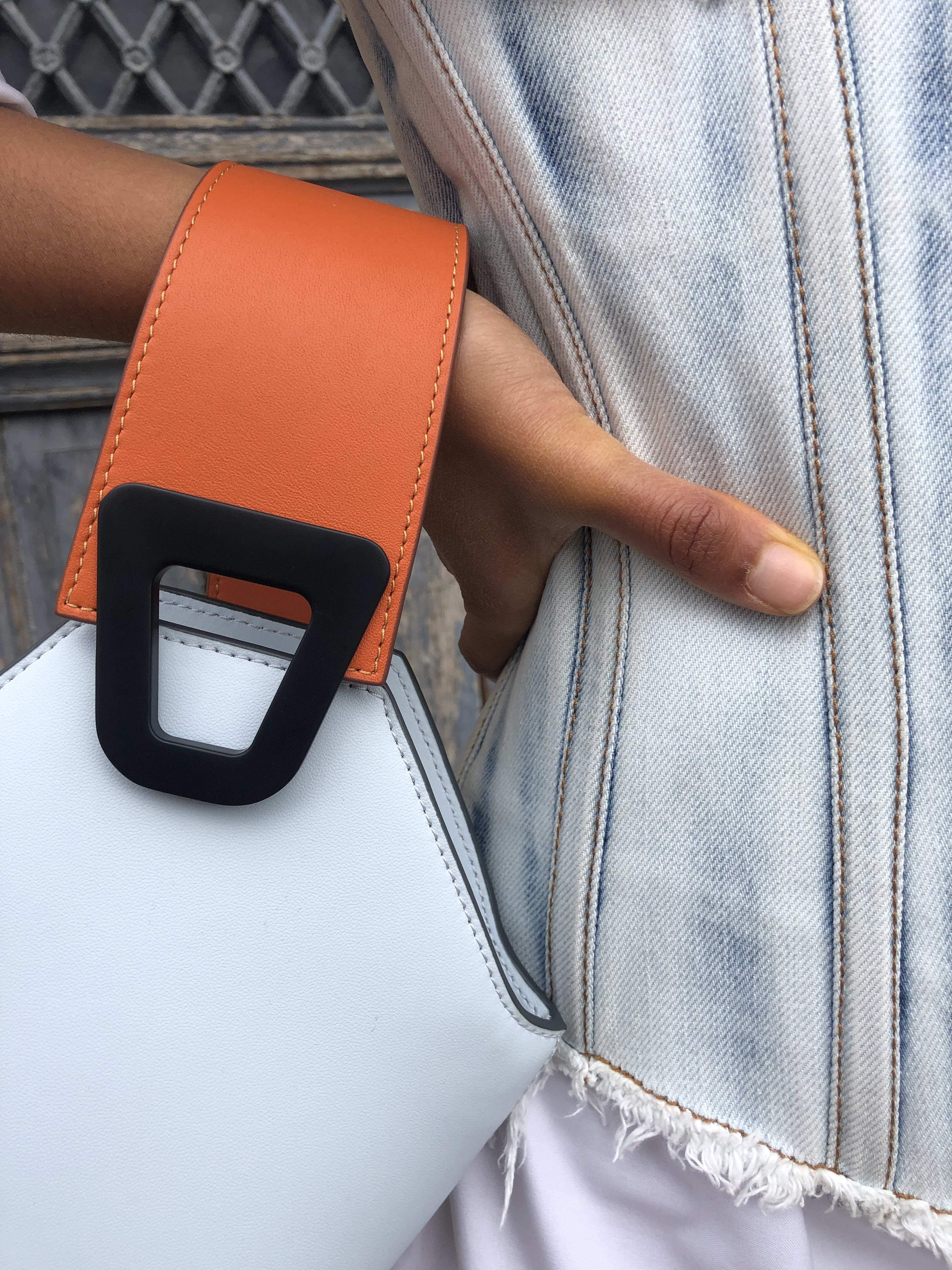 Packshot du produit Corset en Denim Bleached de la catégorie Tops & Chemises