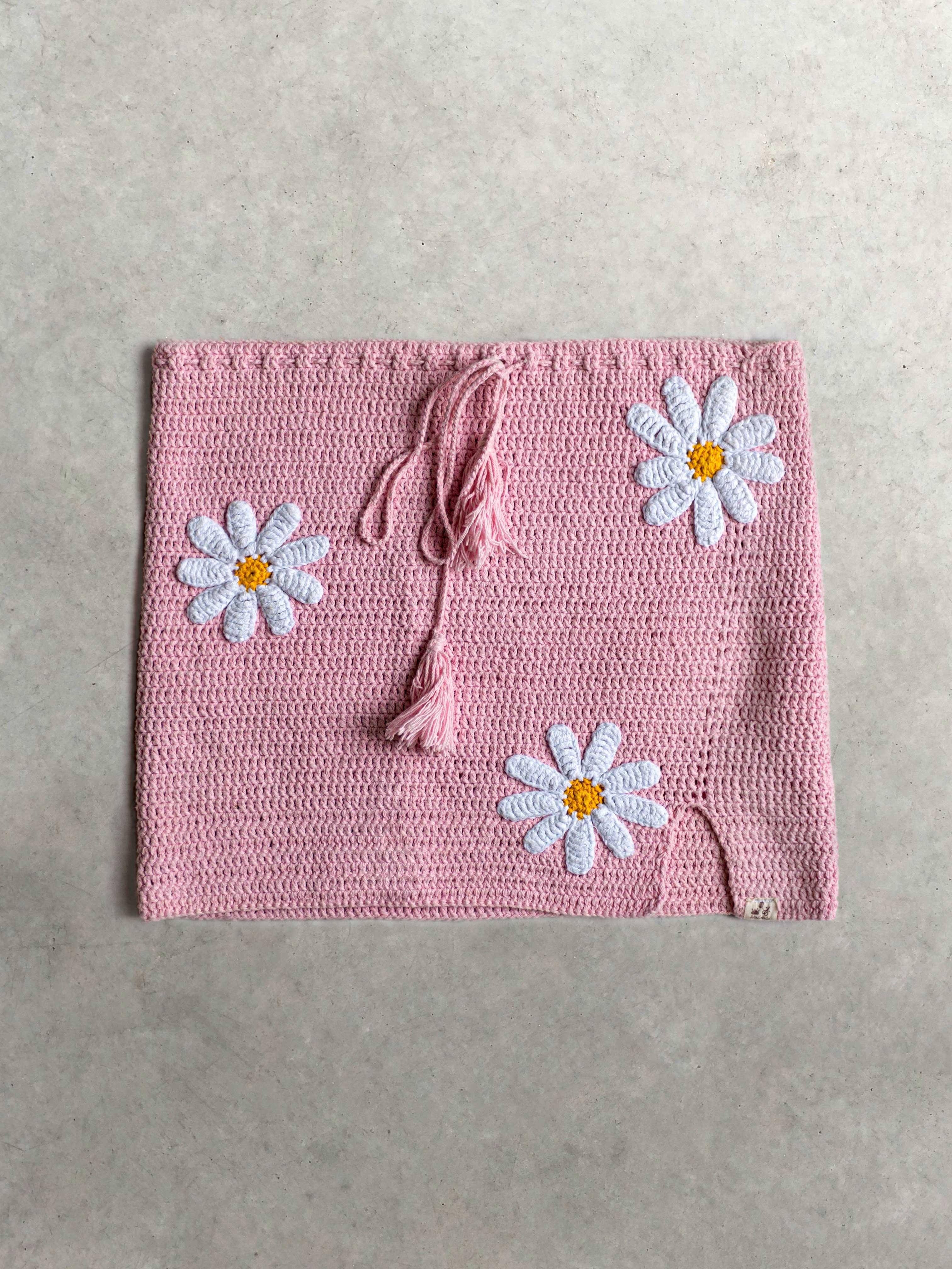Packshot du produit Jupe crochet rose  de la catégorie Jupes